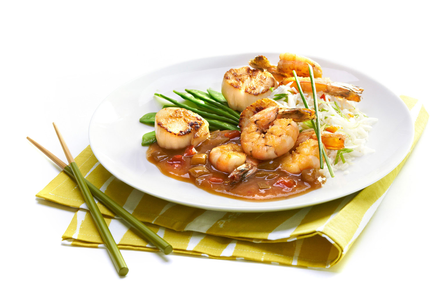 Asian-shrimp-and-scallop-in-pepper-sauce-with-white-rice-by-top-Los-Angeles-food-photographer.