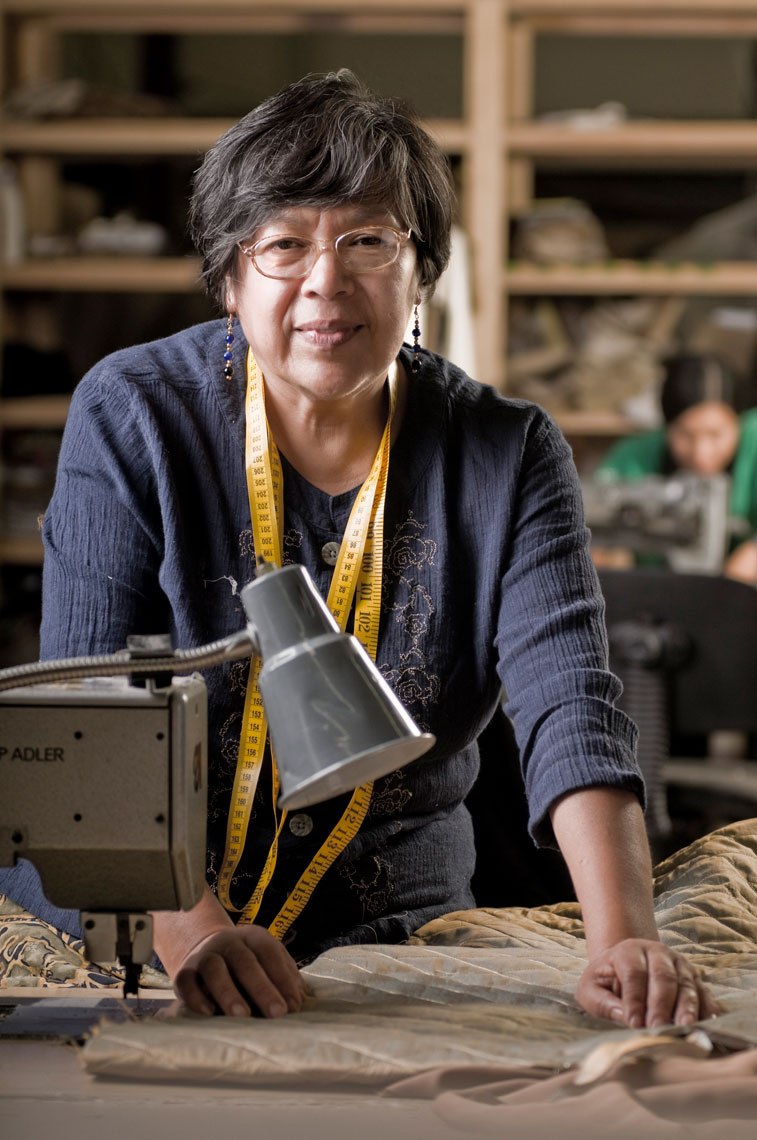 Furniture-factory-seamstress-by-environmental-portrait-photographer-Joe-Atlas.